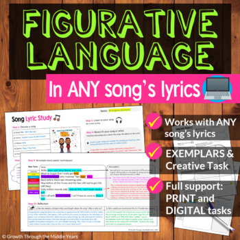 Figurative Language in Songs Lyrics