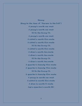 Song Lyrics for Math, ELA, Science, and Social Studies