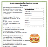 "Song ""Me gustan las hamburguesas"" Spanish 1"