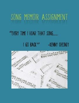 Song Memoir Writing Assignment