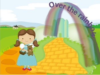 """Song -  """"Over the rainbow"""" The Wizard of OZ"""