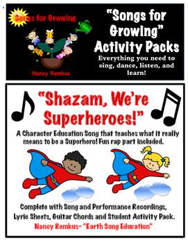 Song Packs-Shazam, We're Superheroes!
