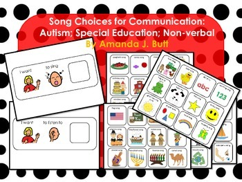 Song Picture Choices for Communication; Autism; Special Education; Speech;