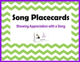 Song Placecards