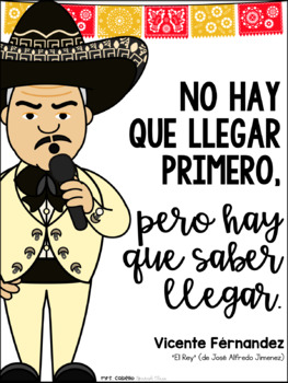 Song Quotes Posters in Spanish