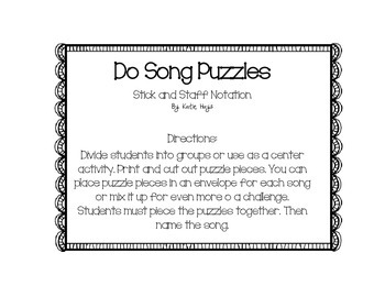 Song Puzzles with Do