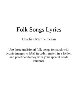 Song Sort - Charlie Over the Ocean