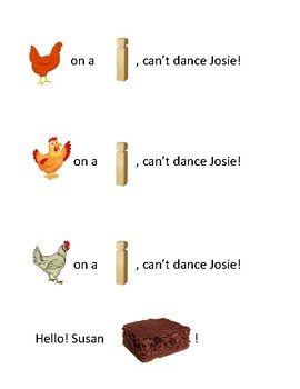 Song Sort - Chicken on a Fencepost