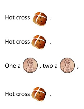 Song Sort - Hot Cross Buns