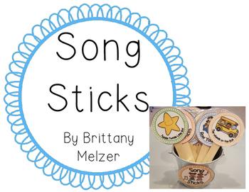 Song Sticks (FREEBIE)