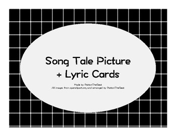 18 Song Tale Posters with Lyrics on the Back!