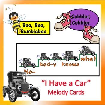 Elementary Music Song Favorites: Teaching Posters BUNDLE