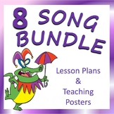 Elementary Music Song Favorites: Teaching Posters BUNDLE