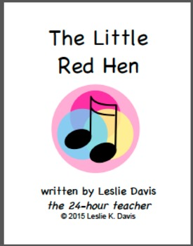 The Little Red Hen Song