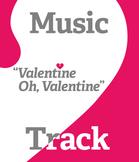 Valentine Song - Valentine Oh Valentine - karaoke track -