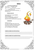 Song Worksheet Bonfire heart
