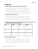 Song Worksheet Template / Deutsch German Intermediate Research Activity