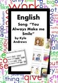 ESL/English: Song: You Always Make Me Smile