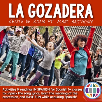 La Gozadera by Gente de Zona ft. Marc Anthony song activities