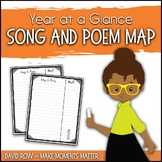 Song and Poem Map for the School Year