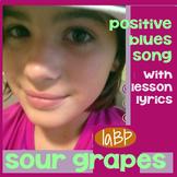 Song - positive attitude song w/lesson plan, lyrics