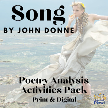 Song by John Donne Common Core Assessment Practice Questions, Activity, Lessons