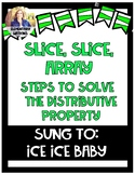 Song for Distributive Property Steps