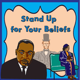 Black History Month/Civil Rights Song: Stand Up for Your Beliefs