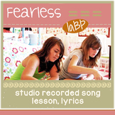 Pop Song: self esteem and kindness