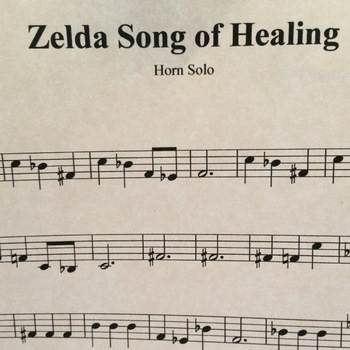 Song of Healing arranged for French Horn Solo