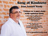 Song of Kindness (Unison or 2 part choir)