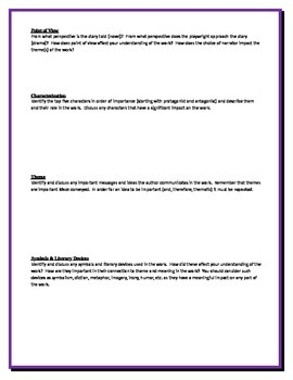 Song of Solomon - Morrison - Group Critical Response Questions