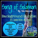 Song of Solomon by Toni Morrison Background PPT, Guided No