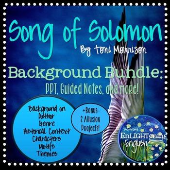 song of solomon toni morrison study guide