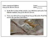 Song of the Hermit Thrush - PowerPoint with printables .zip