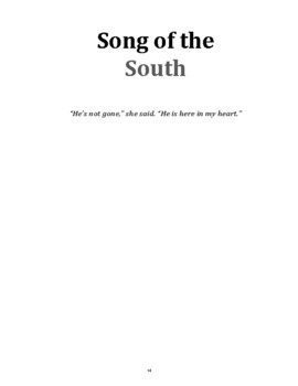 """Song of the South"": a high interest story with vocab, questions, and activities"