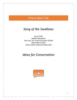 Song of the Swallows: Ideas for Conversation
