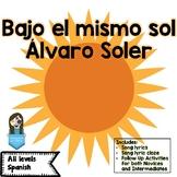 Song of the Week: El mismo sol Álvaro Soler