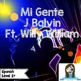 Song of the Week: Mi Gente J Balvin ft. Willy William