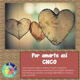 Song of the Week: Por amarte así CNCO
