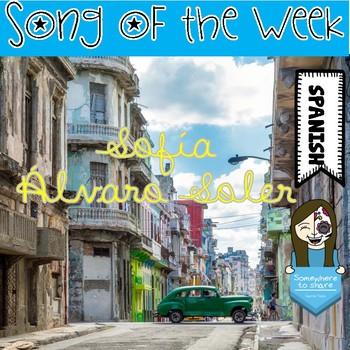 Song of the Week: Sofía por Álvaro Soler