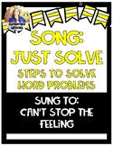Song to Learn Word Problem Steps