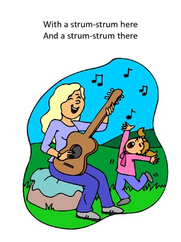 Song to introduce musical instruments to children (tune: Old Macdonald)