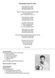 "Song worksheet ""One Broken Heart for Sale"" by Elvis"
