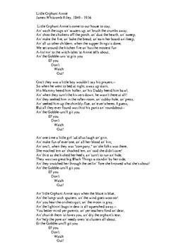 SongTale - Little Orphant Annie