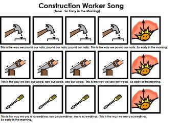 "Songboard - ""Construction Worker"""