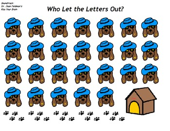 """Songboard - Dr. Jean's """"Who Let the Letters Out?"""""""