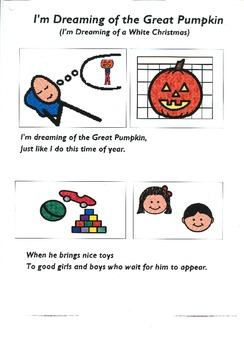 """Songboard - """"I'm Dreaming of the Great Pumpkin"""""""