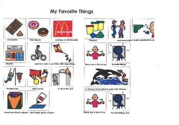 Songboard - My Favorite Things (School Version)