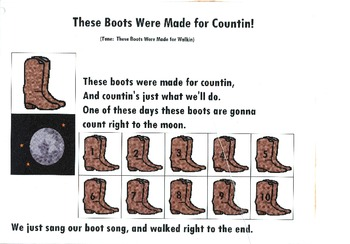 Songboard - These Boots Were Made for Counting